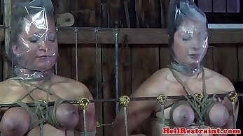 BDSM in HQ, sexual punishment, slave porn