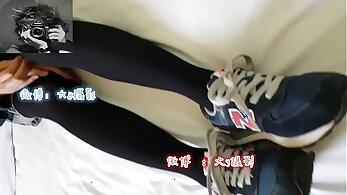 asian sex, chinese babes, cock sucking, feet, girl porn, hot footjob, lesbian sex